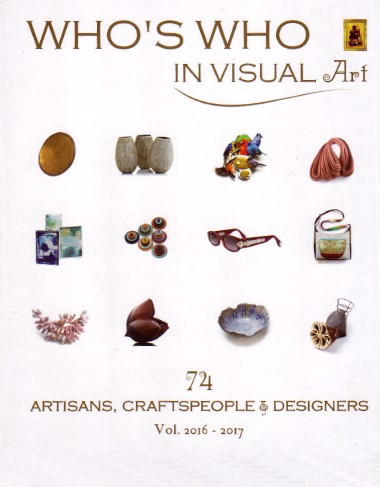 BUCH: WHO´S WHO IN VISUAL ART- Artisans, Craftspeople & Designers Vol. 2016/2017